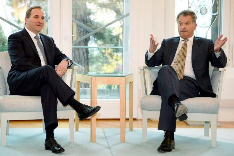 Löfven Tallinnas: Rootsi jätkab koostööd NATOga, millega ei kaasne artikkel viie järgimise kohustust