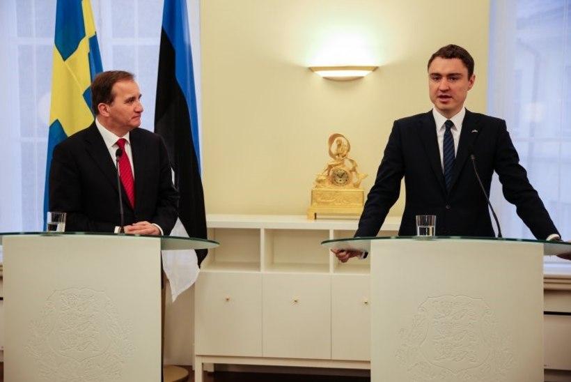 Eesti ja Rootsi valitsusjuhid peavad olukorda Läänemerel murettekitavaks