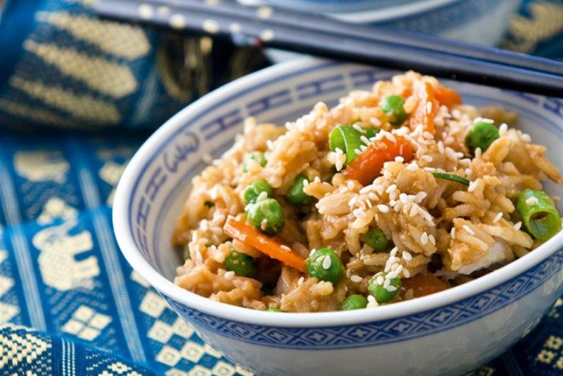 Hiinapärane küpsetatud riis