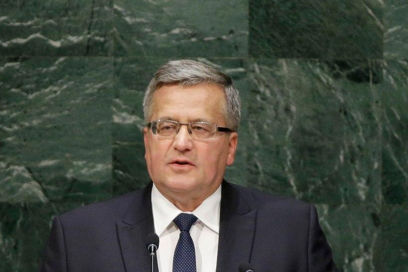 Poola president: Poola ei ole Ukrainat hüljanud, kuid me ei saa nende eest tööd ära teha