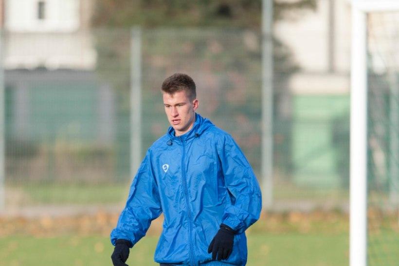 Fulhami põhikoosseisuga treeninud Mattias Käit: oskuste poolest ma alla ei jäänud