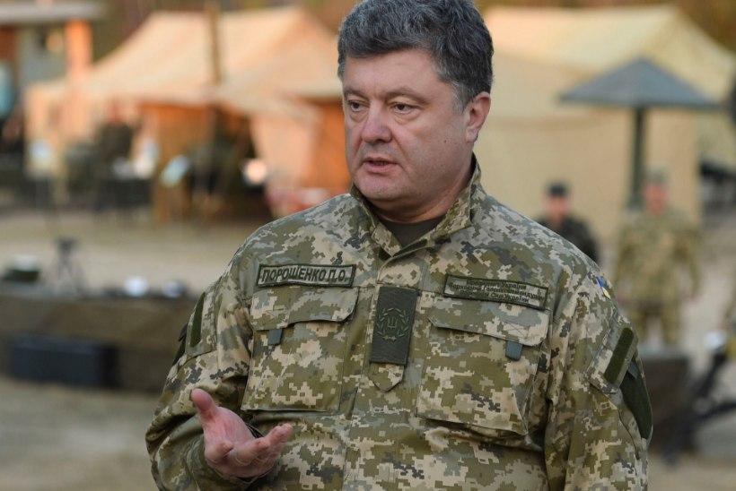 Petro Porošenko tõotas vallutatud alad tagasi võtta