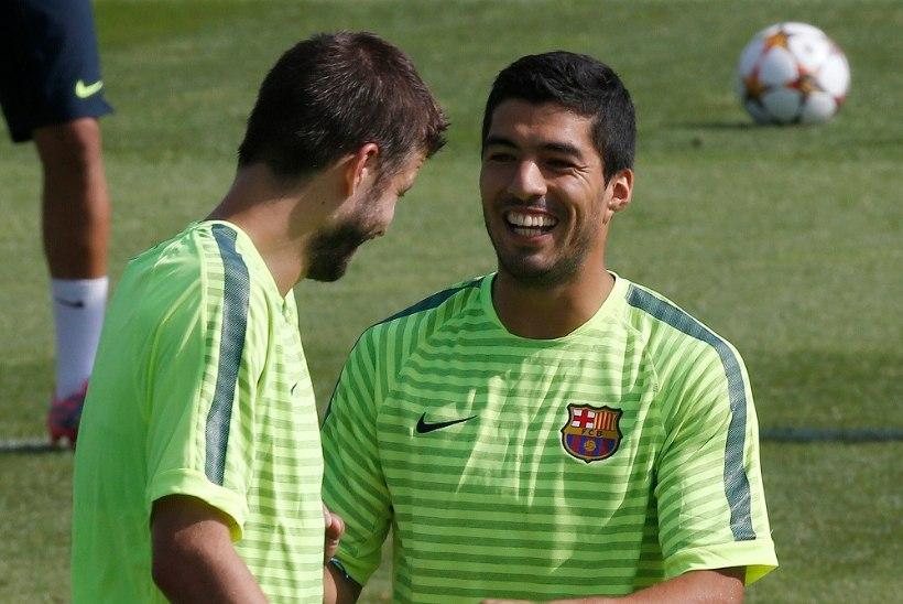Pique Suarezile: ära mind hammusta!