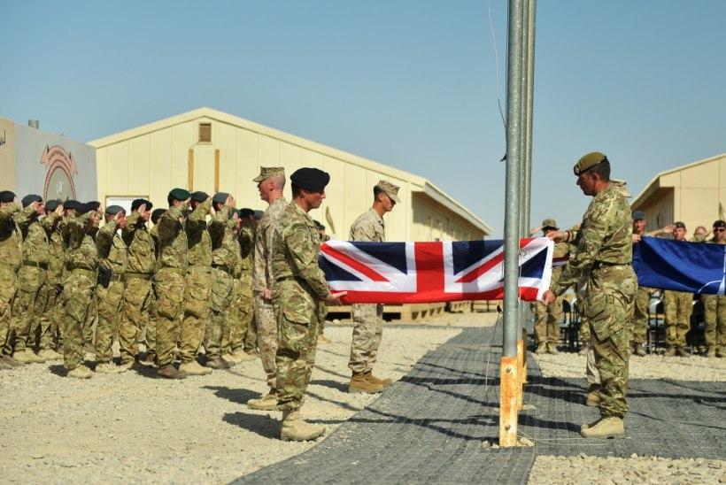 BBC: Ühendkuningriigi lahingoperatsioonid Afganistanis jõudsid lõpule