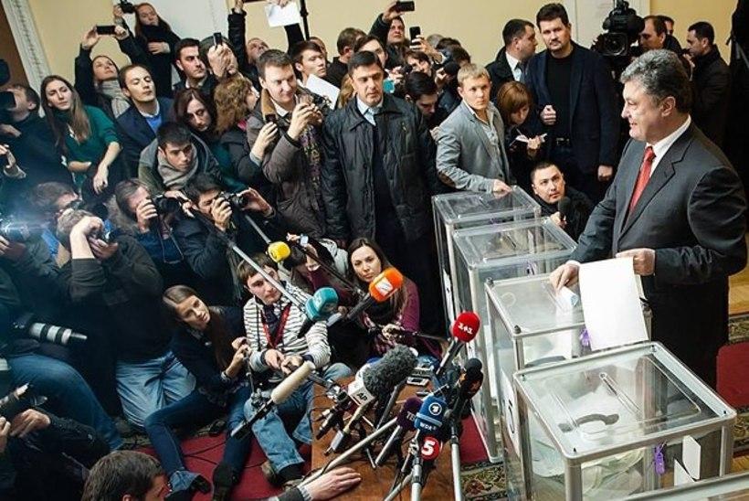 Ukraina ülemraada valimisi iseloomustas nigel osavõtt