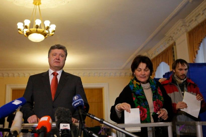 Ukraina presidendi sõnul näitasid valimised toetust tema rahuplaanile