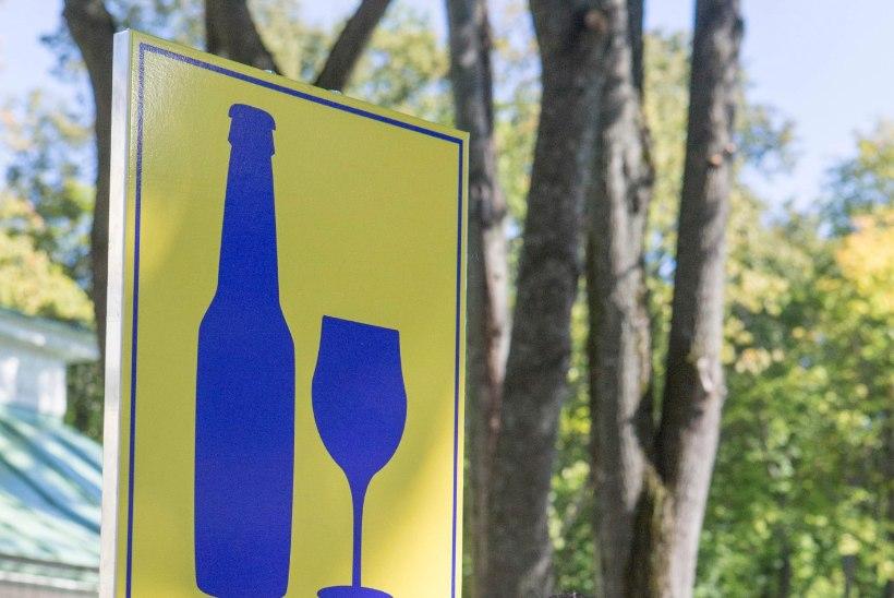 Tallinn plaanib napsivõttu lubavad märgid maha võtta