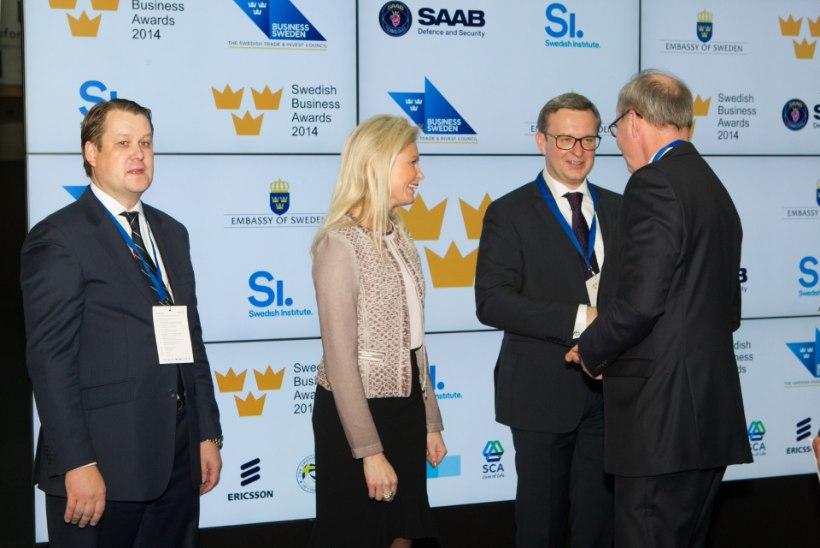 GALERII: kroonprintsess Victoria osales Kumus Rootsi äriauhindade jagamisel