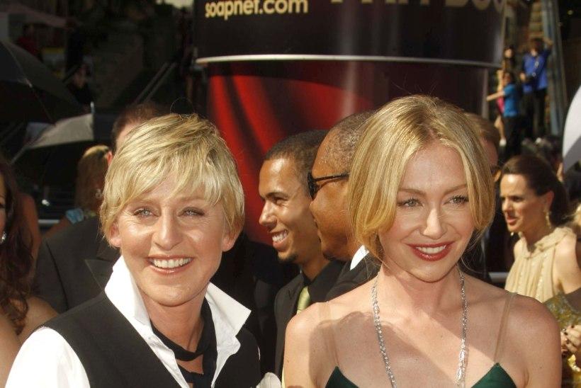 Ellen DeGeneres ja Portia de Rossi pöörasid tülli
