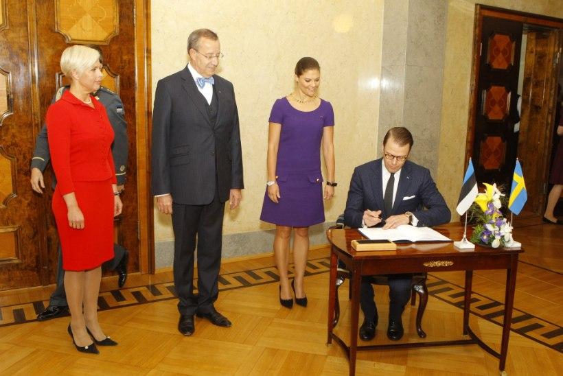 FOTOD: Kroonprintsess Victoria saabus Tallinna
