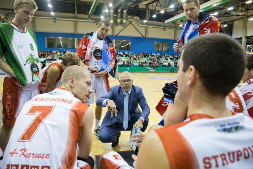 Teinegi Eesti meeskond sai Balti liigas Lietkabelisest jagu