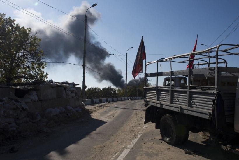 Ukraina separatistide teatel on Donetski lennujaam nende kontrolli all