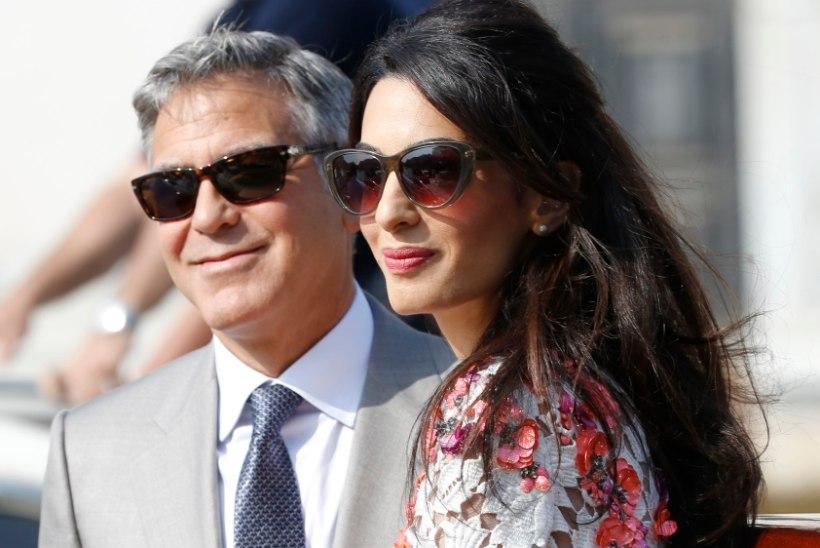 Kaks eestlannat sattusid juhuslikult George Clooney pulmakeerisesse
