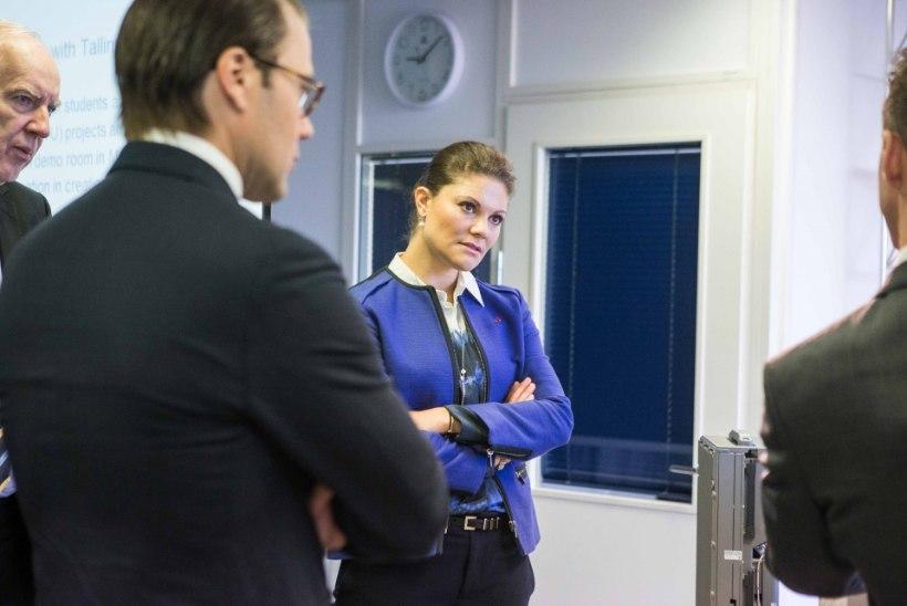 GALERII: kroonprintsess Victoria ja prints Daniel külastasid Ericssoni Eesti tehast