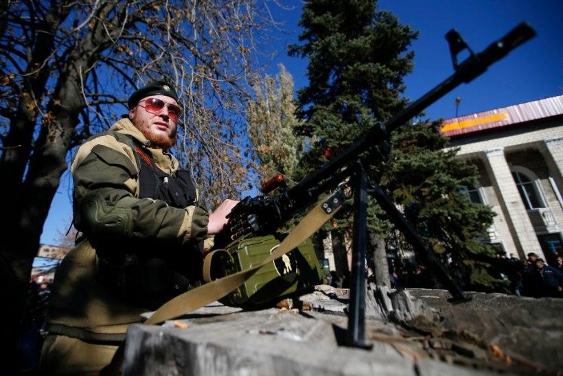 Venemaa peab Ukraina separatistide valimisi igati õiguspäraseks