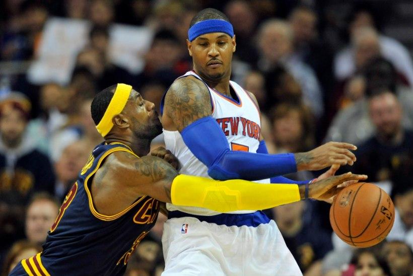 Knicksi tervitus LeBronile: kaotus juba esimeses kodumängus
