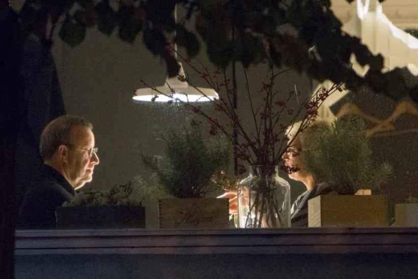 Klaarivad suhteid? Presidendipaar käis vanalinna nooblis restoranis õhtustamas