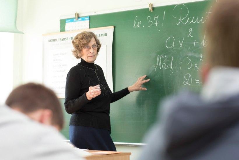 56 aastat koolis õpetanud Linda Kender: olgu võim milline tahes, matemaatika ei valeta kunagi