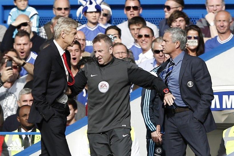 VIDEO: Mourinhoga tõuklema läinud Wenger: ma ei ütle selle kohta midagi