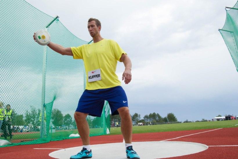 Martin Kupper heitis Tallinnas ketast 63.75