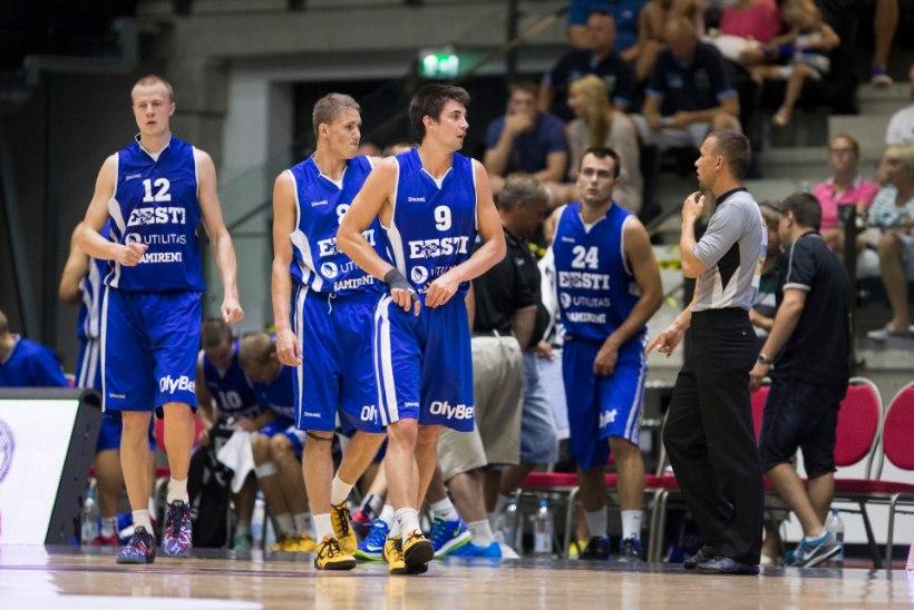 UUENDUS: Eesti saab korvpalli EMile kaasa võtta 14 mängijat