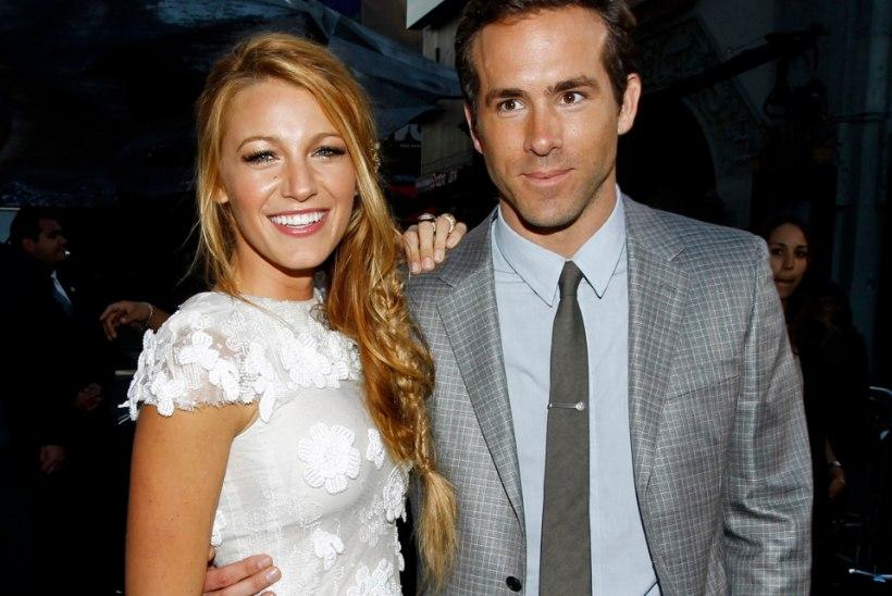 Blake Livelyst ja Ryan Reynoldsist saavad lapsevanemad