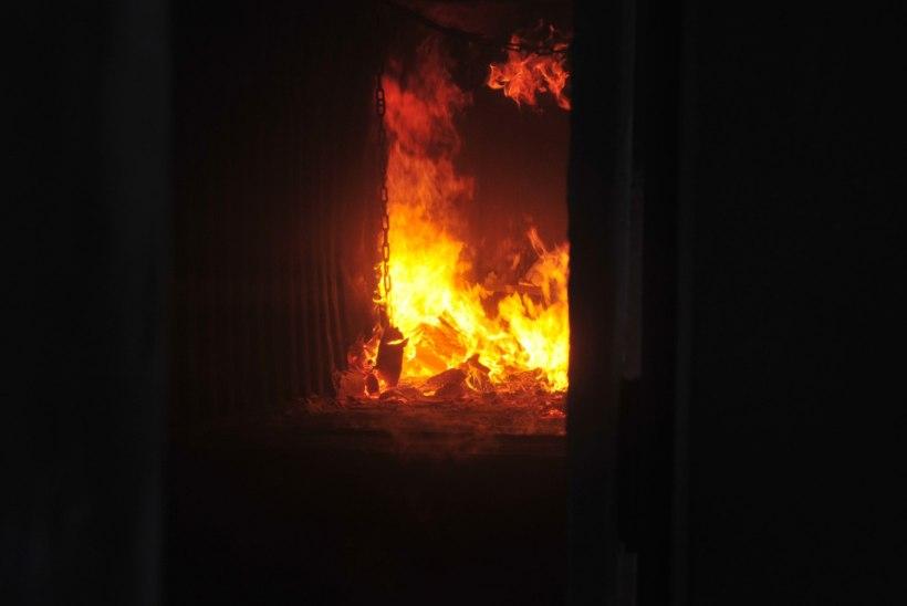 Tähelepaneliku elanik päästis oma naabri tulesurmast