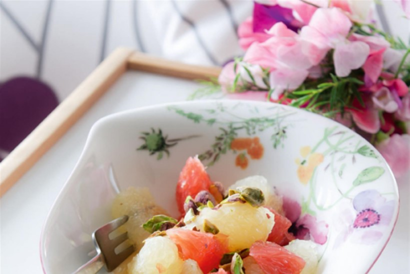 Greibi-pistaatsiapähkli salat