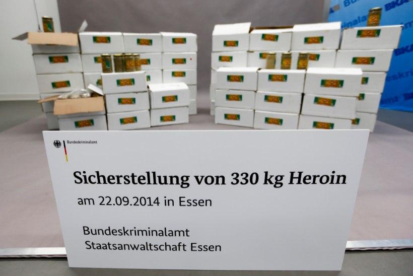Saksamaal leiti 330 kilogrammi heroiini