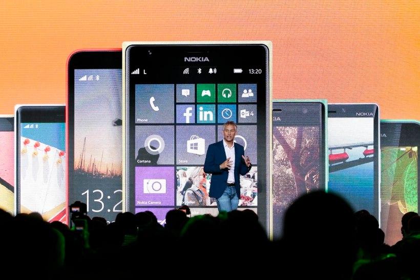 """HUVITAV, HUVITAV: milline näeb välja esimene Microsofti """"mittenokia"""" Lumia?"""