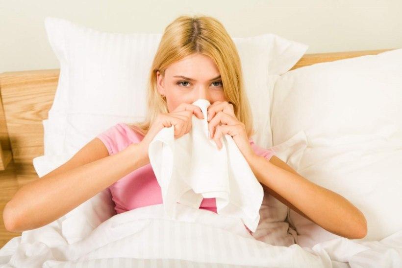 Gripp on alati raske haigus