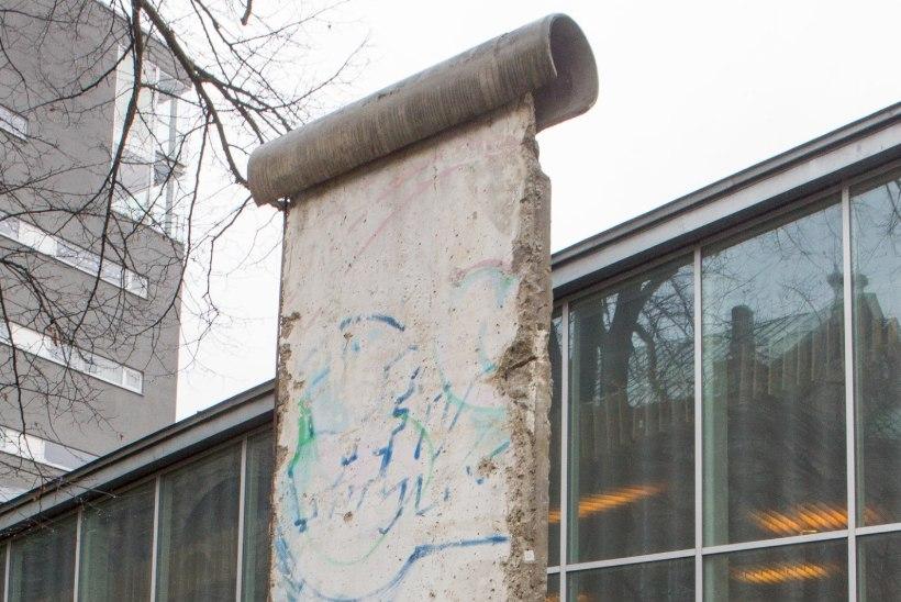 FOTOD: Tallinnas saab alates möödunud pühapäevast näha Berliini müüri