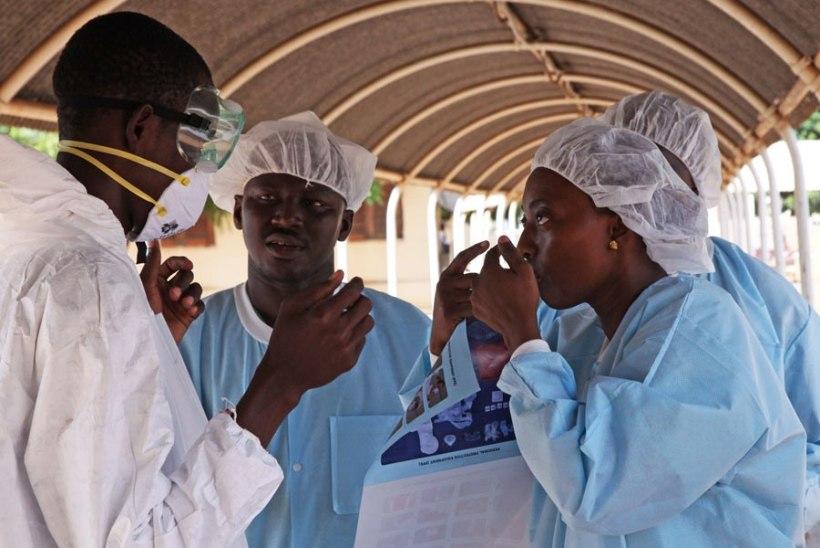 Malis suri ebolasse meditsiiniõde