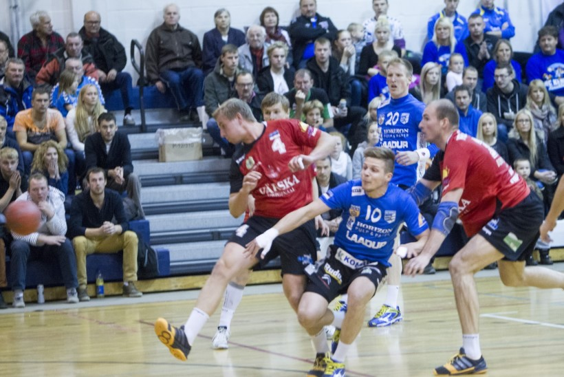 Eesti käsipalliklubid said Balti Liigas võimsad võidud