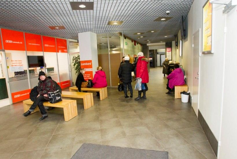 Rongisõitjad hädas: suure Balti jaama ootesaal on tilluke