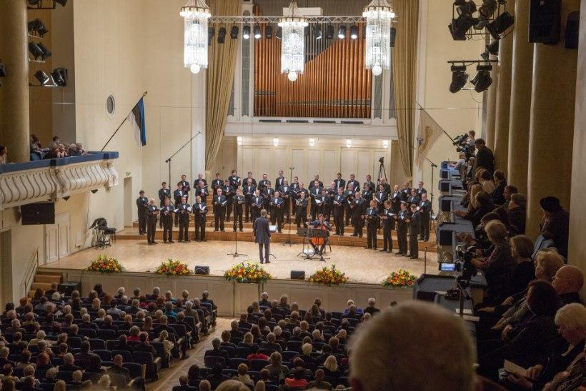 GALERII: Eesti Rahvusmeeskoor tähistas oma 70. sünnipäeva