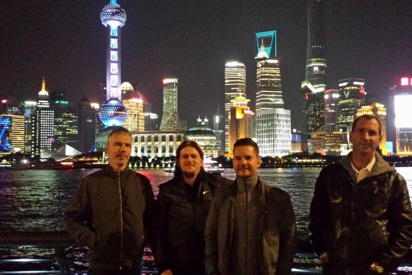 C-Jam Hiinas: kõik tahtsid valgete meestega pilti teha