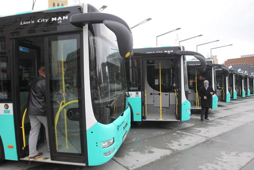 Tallinn vahetas nelja aastaga välja ligi pooled autobussid