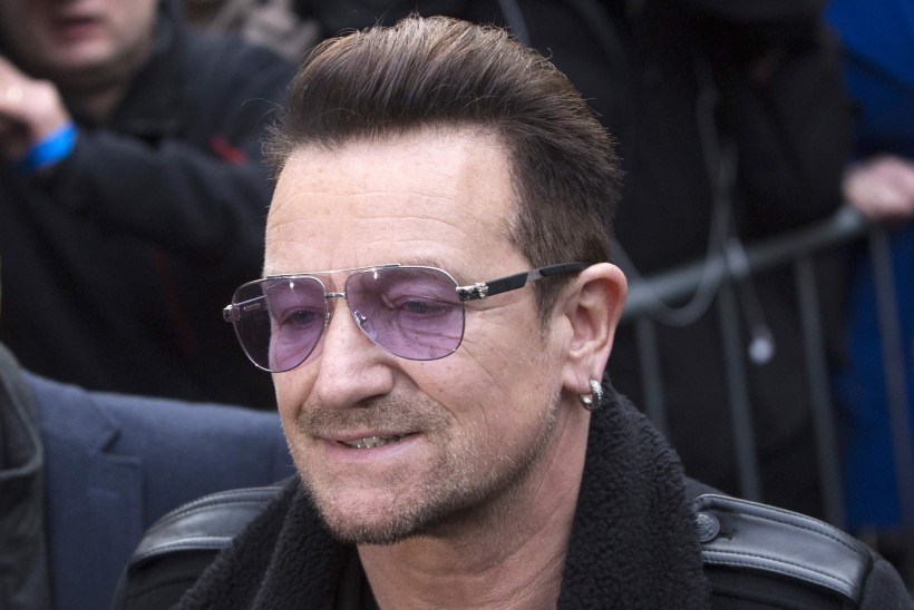 Bono kukkus end ribadeks