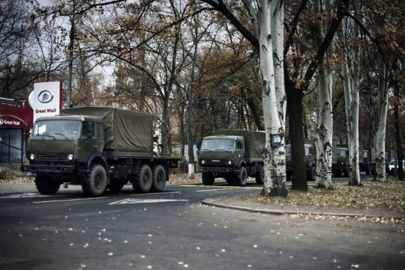 Kiiev teatas tihedast vägede juurdevoolust Venemaalt Ida-Ukrainasse