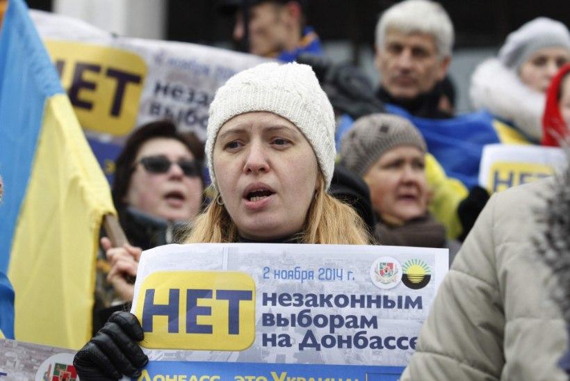 Donetski ja Luhanski valimiste vastu