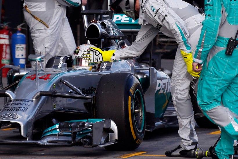 20 FOTOT: Lewis Hamiltoni teekond tänavuseks maailmameistriks