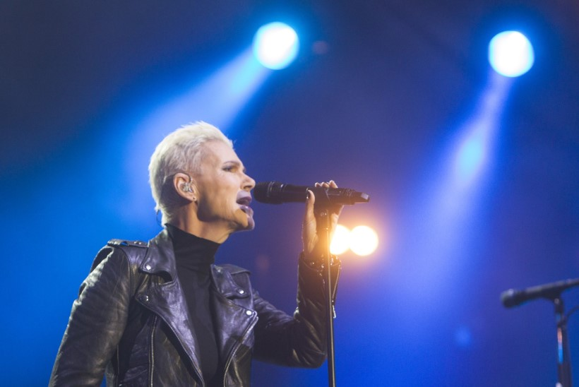 GALERII: Roxette pani eestlased kaasa laulma ja näppu viskama