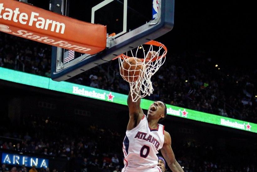 NBA parimad pealtpanekud: väike Teague lendab kui kull!