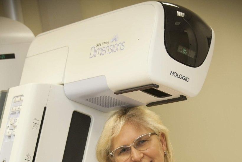 Eestisse jõudnud uudne 3D mammograafia aitab rinnavähki veelgi täpsemalt avastada