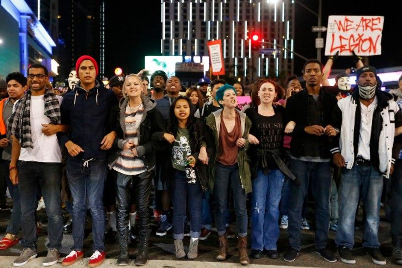 VIDEO JA GALERII: rassirahutused USA-s ei taltu, tänavatele saadeti veel Rahvuskaardi üksusi