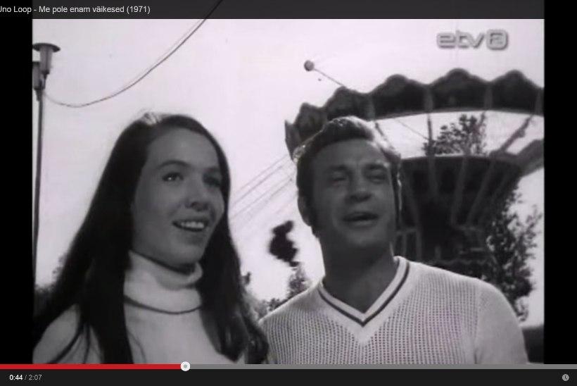 MATSITEGU EESTI VIDEOAJALOOS? Laulab Heidy Tamme, kuid ekraanil on tundmatu näitsik!