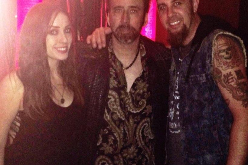 Nicolas Cage rokkis Las Vegases Eestis muusiku Brad Jurjensi kontserdil!