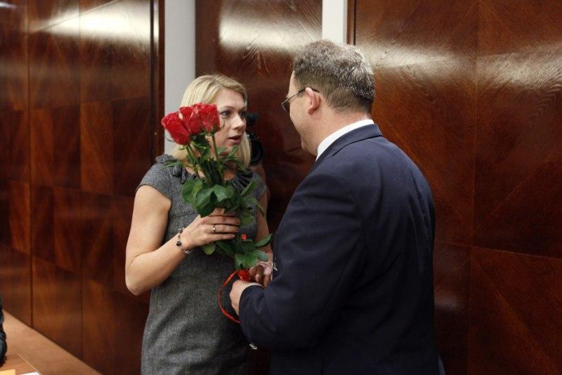 Kas on õige, et dopingukahtlusega Kristina Šmigun-Vähi on endiselt EOK asepresident?
