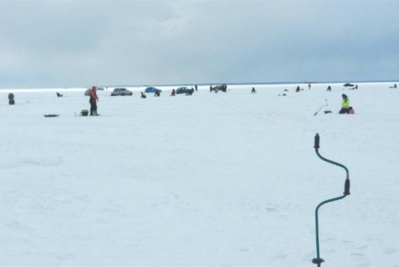 Tänasest keelatakse liikumine Peipsi järvistul